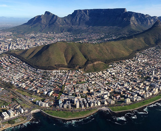 Civair scenic flights Cape Town