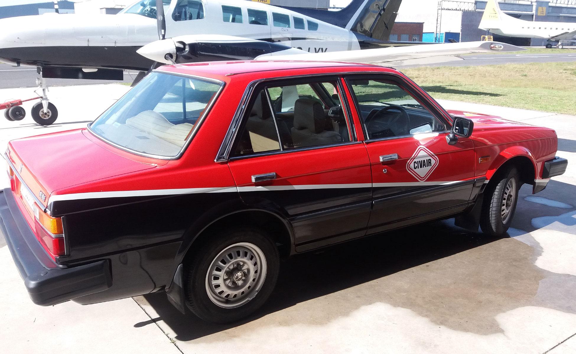 Civair classic car hire