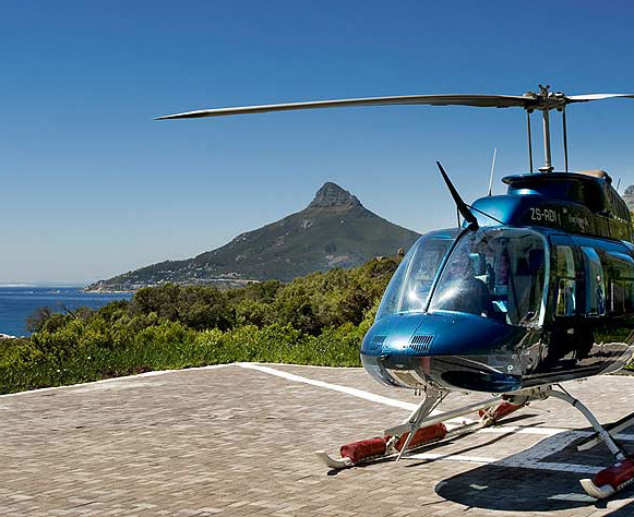 Civair helicopter hotel transfers