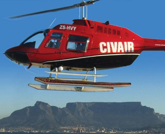 Civair scenic flights Western Cape